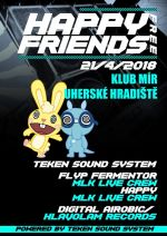 Teken Sound System-HAPPY FREE FRIENDS