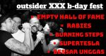 Outsider XXX b-day fest